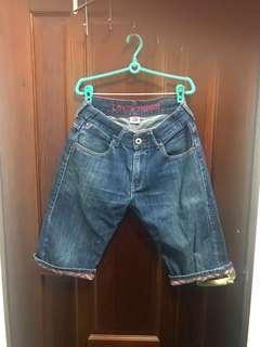 🚚 Levi's 523炫彩方正牛仔短褲