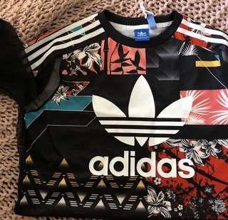 Adidas t shirt dress // t shirt