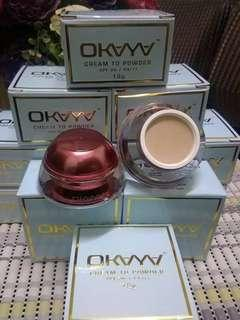 OKAYA Cream To Powder Foundation - 15gm