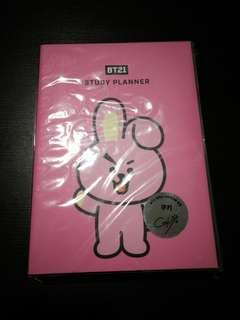 BTS BT21 Cooky Planner & Monopoly Note Book