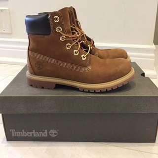 """Timberland 6"""" Premium Waterproof Beige Boots"""