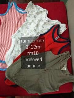 Pre❤ Baby Rompers 9-12m (🆓 C.O.D.) #MFEB20