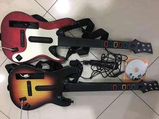 Guitar hero set