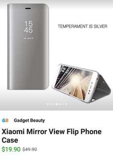 Redmi 5 Plus Bi Fold Miror Case