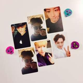 EXO Official Exodus Photocards: Chen & Chanyeol & Sehun & Tao