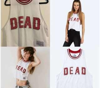 Drop Dead 'DEAD' Baseball Crop