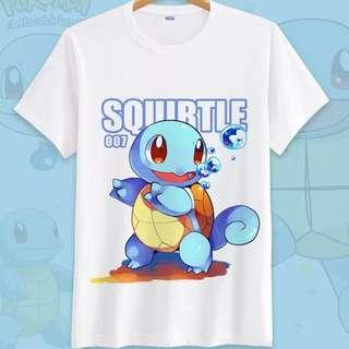 Pokemon Short Sleeve & Long Sleeve T-shirts [Squirtle Part 6]
