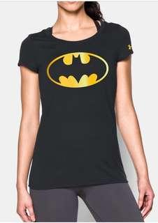 Under Armour Alter Ego batman Batgirl shirt