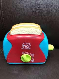 Bread toaster toy