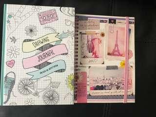 Pretty diary/journal