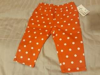 Brand new with Tag Baby BGosh Pants 6-12mths