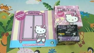 NEW HELLO KITTY BOOK AND 70 NEW CARDS