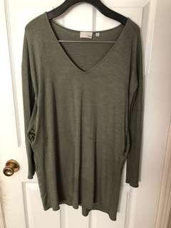 Aritzia - Wilfred free - longsleeve dress