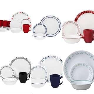 ‼️FREE DELIVERY‼️ Corelle Livingware Dinnerware Set