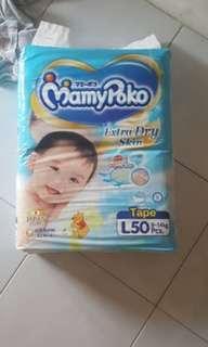 Mamypoko L size tape