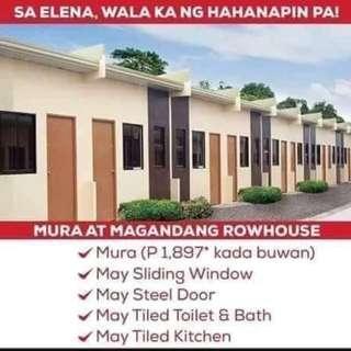 1 Bedroom - Elena Rowhouse unit in Bria Homes, Barangay Calumpang cerca Indang, Naic Road Cavite