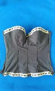 Striped bralet