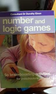 Number and Logic learning card game