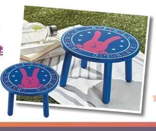🚚 宇宙人 童趣小椅凳 小圓椅