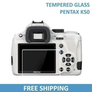 Pentax K50 Tempered Glass Screen Protector