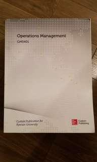 GMS401 Operations Management
