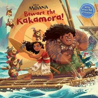 (Brand New) Beware the Kakamora! (Disney Moana)  By: Random House Disney [Paperback]  For Ages: 6 - 7 years old