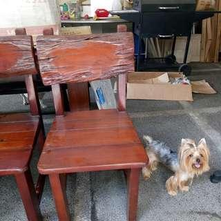 Solid wood chair bundle