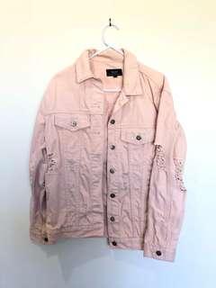 Pink Bardot Jacket