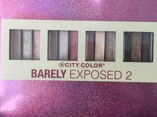 PRELOVED CITY COLOR BARELY EXPOSED 2 EYESHADOW