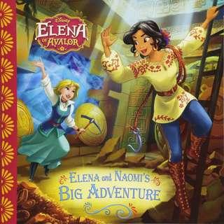 (Brand New) Elena of Avalor : Elena and Naomi's Big Adventure  By: Disney Storybook Artists [Paperback]  For Ages: 6 - 7 years old