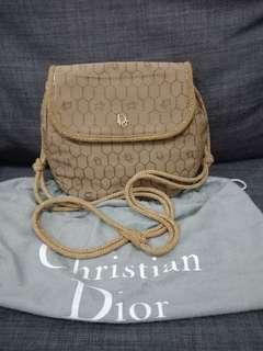 Christian Dior String Sling Bag
