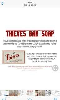 $11 offer price thieves bar soap