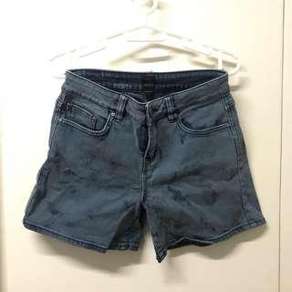 Ripcurl High Waist Denim Shorts