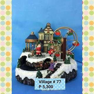 Christmas Village #77