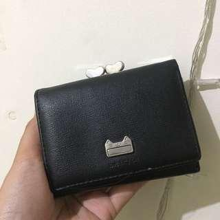 Dompet Miniso BLACK good condition PRELOVED