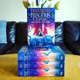[NEW HARDCOVER] Magnus Chase and the Sword Of Summer by Rick Riordan