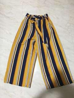 Zara inspired stripe palazzo pants