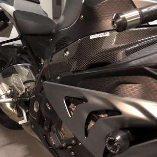 Carbon Frame Covers - BMW S1000RR' 2009-2014 for Sale