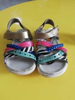 Dora Multi Colored Sandals