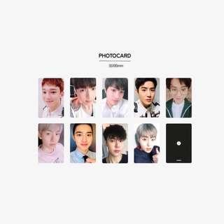 [PREORDER] EXO COMMEMORATIVE MEDAL OFFICIAL PHOTOCARD
