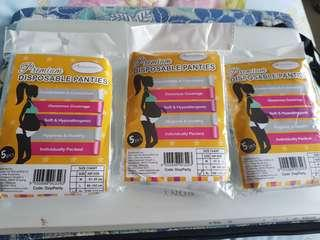Premium Disposable Panties by Autumnz