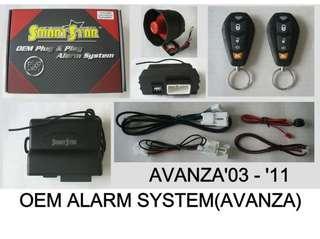 Toyota Avanza Car Alarm System