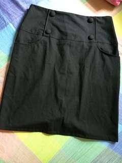 Black Skirt / Corporate Skirt size XL