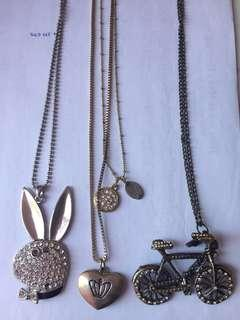 Assorted Long Necklace 3 for 25.000