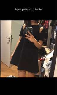 Zara Black Cutout Dress