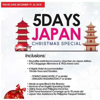5DAYS JAPAN CHRISTMAS SPECIAL