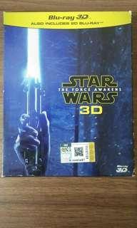 Blu Ray 3D + 2D Star Wars: The force Awakens
