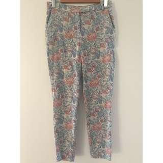 Asos Jacquard Tapestry Trousers