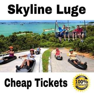 Luge And Skyride Sentosa Cheap Tickets