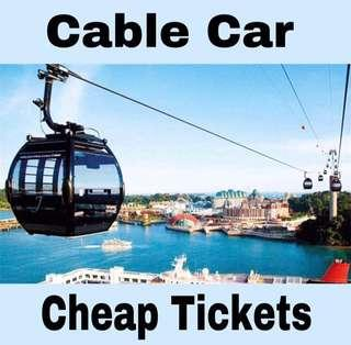 Cable Car Cheap Tickets